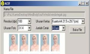 acef Aplikasi Cetak Foto